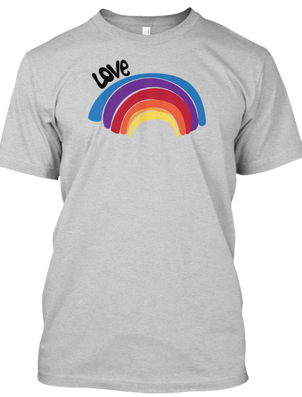 love is love is love. rainbows and love.